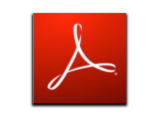 logotipo adobe reader